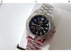 Breitling Superocean II 42 A17360. Serial B56039. Recently Serviced.