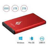 "1TB 2TB USB3.0 2.5"" External Hard Disk Drive SATA III Memory Storage Device HDD"