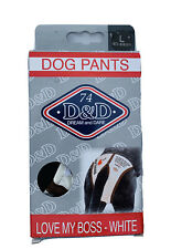D&D Dream And Dare I Love My Boss Pants Pads 40-49cm Large NEW