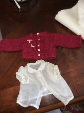 Doll Terri Lee Sweater and Organdy Shirt 1950s