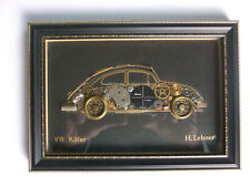 "Uhrenbild ""VW Käfer"" H. Lehner Top Zustand"