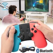 Bluetooth Wireless Gamepad Joypad Remote Control for Nintendo Switch Blue/Red