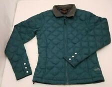 Golite Womens Medium Down Jacket, Sz Small, Green / Teal