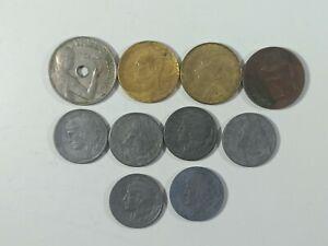 Lote 10 Monedas España República 1937-1937 | MBC