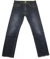 Men's Hugo Boss Green Label Straight Leg Denim Jeans W32 L32