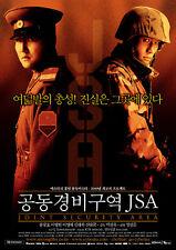 "KOREAN MOVIE""Joint Security Area ""ORIGINAL DVD/ENG SUBTITLE/KOREAN FILM"