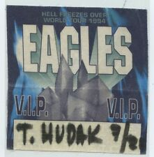 EAGLES Hell Freezes Over Tour Official Genuine BACKSTAGE PASS 1994
