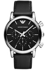 Emporio Armani AR1733 Classic Black Stainless Steel Men's Watch