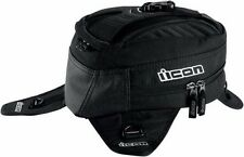 ICON PRIMER TANK BAG MOTORCYCLE BACK PACK BLACK FREE SHIPPING