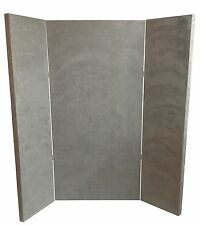 Mic Booth Bass Trap – 4′x4′ NEW DESIGN FOR 2018 - Gray Microsuede - Vocal Booth