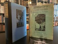 FIRST EDITION - THE PRIVATE LIFE - ADAM - EVE - 1931 - Mark Twain - Clemons
