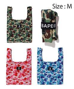 A BATHNIG APE Men's Goods ABC CAMO SHOPPING BAG ( M ) 3colors New