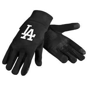 Los Angeles Dodgers Neoprene Gloves Sports Logo Winter NEW Texting Tips High End