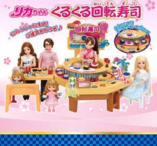 New! Takara Tomy Licca chan Doll Playhouse Toy Conveyor Belt Sushi Restaurant!