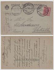 S. ELPIDIO A MARE: testatina Ordine dei Veterinari 1915