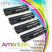 4 Pack CB436A 36A Toner Cartridge for HP LaserJet M1522N M1522NF P1505 P1505N