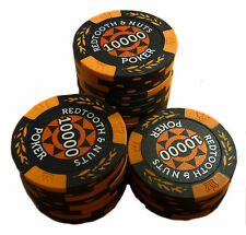 Redtooth & Nuts Poker Chip Roll - 10,000 Value