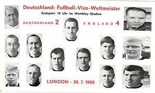 17856/ Foto AK, Fußball-WM 1966 Deutschland-England 2:4