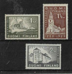 Finland 1927 Anniversary of Abo MNH Set