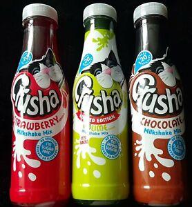 3 Assorted Crusha Milkshakes