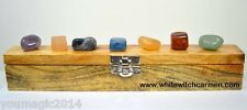 Chakra Crystals Set  Energy Healing  Clearing Guidance  Formally Blessed