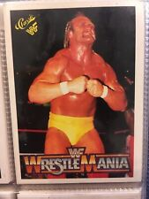 150 1990 WrestleMania collectable cards