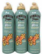 3 HAWAIIAN TROPIC AFTER SUN CREME LOTION ISLAND MANGO FRAGRANCE 6 FL OZ NEW