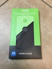 Motorola Moto Mod Herringbone Style Shell Case w/ Wireless Charging For Moto Z