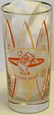 "Rare Vintage 1960's NFL Chicago Bears Hedy 5 1/2"" Glass"