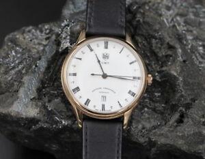 DUFA Elegante HERRENUHR Weimar | GMT | + Box | DF-9006-03