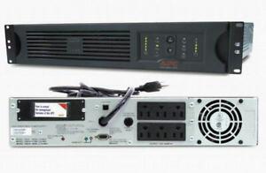 APC SUA1500RM2U Smart-UPS 1500VA 980W 120V USB Rackmount Backup New Batteries