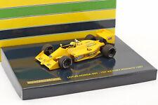 A. Senna Lotus Honda 99T 1st Victory GP Monaco Formel 1 1987 1:43 Minichamps
