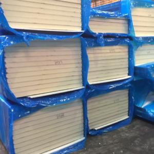Sandwichelemente Wand Sandwichplatten    40mm PIR-Schaum Thermplatten