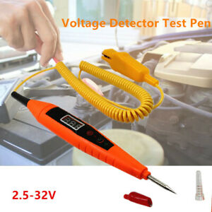 3-32V Digital Car Fuse Circuit Probe Tester Voltmeter Voltage Indicator Detector
