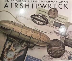 Airshipwreck [illust HB, 1978] by Len Deightman & Arnold Schwartzman (Cape)