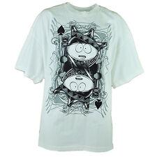 Comédie Central South Park King Eric Cartman Réflexion Blanc T-Shirt Tee 2XLarge