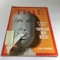 Time Magazine: July 23 73 - In Defense of Nixon 'Speak No Evil' & John Mitchell