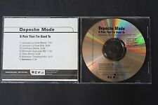 DEPECHE MODE PROMO PRO CD DAVE GAHAN MARTIN GORE A PAIN THAT IM USED TO 7 TRACK
