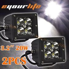 Eyourlife 20W 3.2 Inch LED Spot Work Light Driving Automotive for Trucks F150