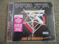 TWISTED SISTER ~LIVE AT WACKEN ~DUAL DISC CD/DVD PROMO ~VG+ ~ALICE COOPER/KISS