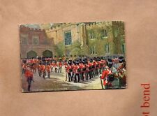 Tucks Oilette Changing Guard At St james Palace Nilitary card Unposted  art