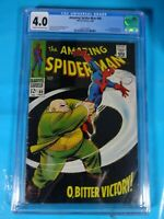 CGC Comic graded 4.0 Marvel Amazing Spiderman  #60 Key kingpin app