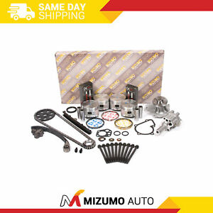 Overhaul Engine Rebuild Kit Fit 90-97 Nissan D21 Pickup 2.4L SOHC KA24E