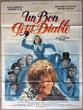Affiche UN BON PETIT DIABLE Jean-Claude Brialy ALICE SAPRITCH Lafont 120x160cm