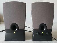 Harman Kardon HK19.5 Black Wired Computer Speaker System 1 Pair