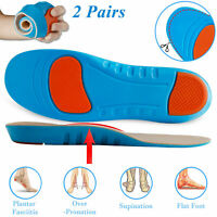 Orthotic Shoe Insoles Inserts Arch Support For Plantar Fasciitis Flat Feet Foot