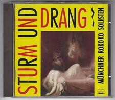 MÜNCHNER ROKOKO SOLISTEN - STURM UND DRANG - AUDIOPHILE TACET CD/ CD NEAR MINT!