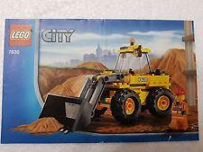 MANUALE ISTRUZIONI LEGO 7630 CITY RUSPA - ONLY MANUAL