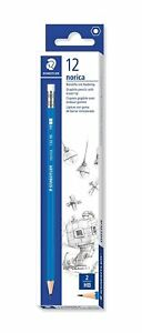 Staedtler Norica 132 46 Rubber Tip Pencil -12 Pencil Pack of 1