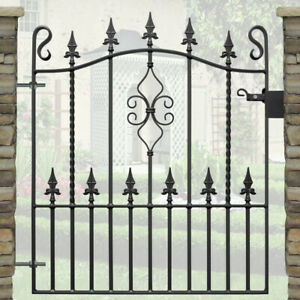 Top Quality Wrought Iron Metal Gate - to fit 2ft 9 (840mm) opening - WEAR DESIGN